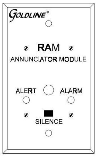 Picture of Goldline RAM - Remote Annunciator Module