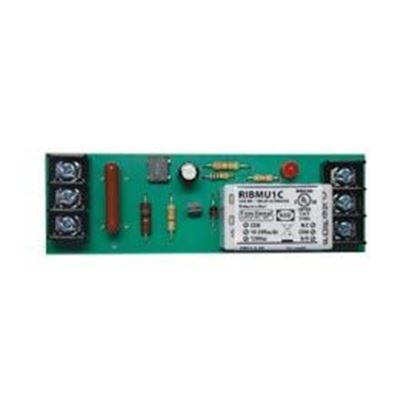 Picture of RIBMU1C 4 Track-Mount Relay 15Amp SPDT 10-30Vac/dc/120Vac