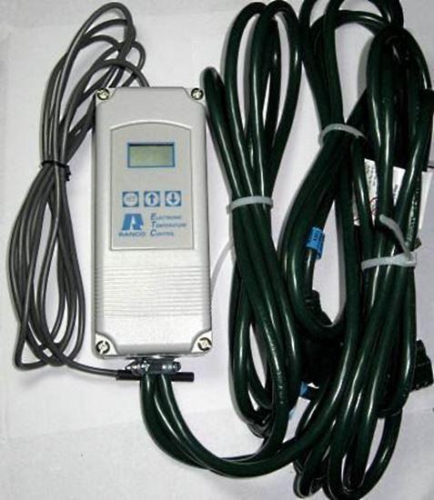 Picture of Ranco ETC-211000-000: 2 Stage Prewired Temperature Controller