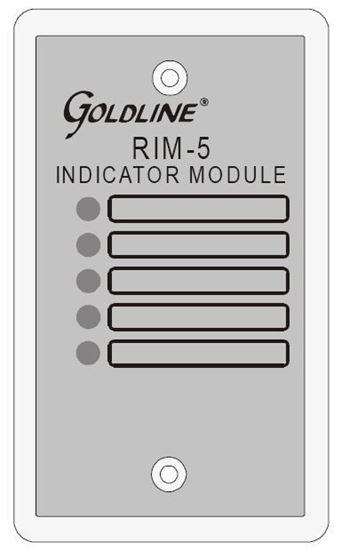 Picture of Goldline - RIM-5 Remote Indication Module