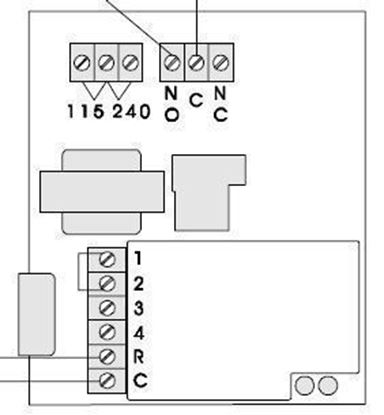 Picture of Goldline SP-34D Single Stage Temperature Control, 2 Output Relays