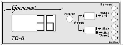 Picture of Goldline TD-6 Temperature Monitor