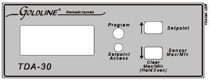 Picture of Goldline TDA-30 Temperature Monitor and Alarm