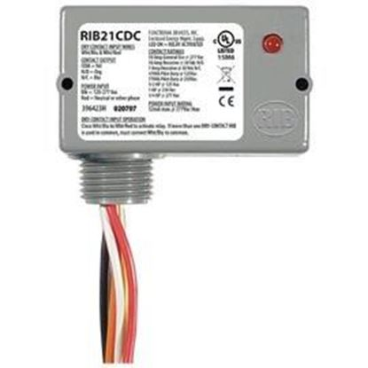Picture of RIB21CDC Enclosed pilot relay, Class2 Dry Contact