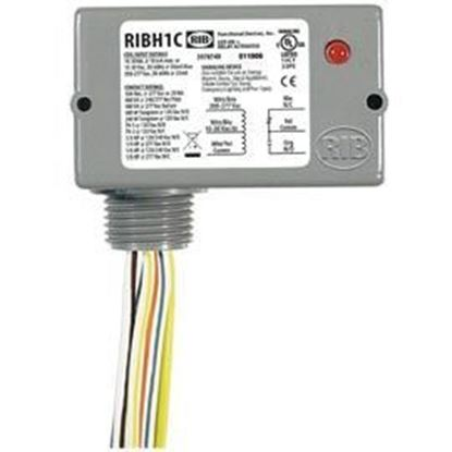 Picture of RIBH1C Enclosed Relay 10Amp SPDT 10-30Vac/dc/208-277Vac
