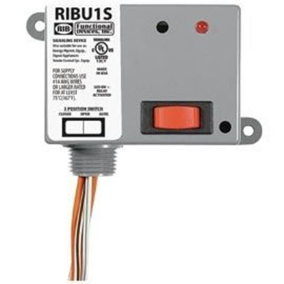 Picture of RIBU1S 10 AMP RELAY SPST NO+HOA